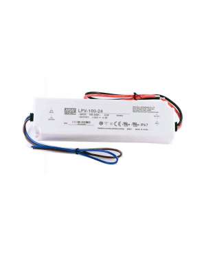 24V LED strip light DRIVER 100W, IP67, Mean Well