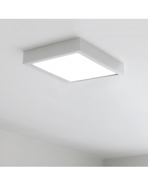 Recessed LED PANEL 300x300 — Surface mounted (50mm frame)