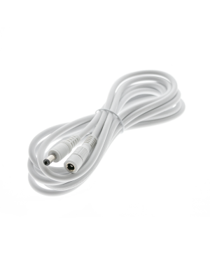 3m long cable for led strip and driver, white