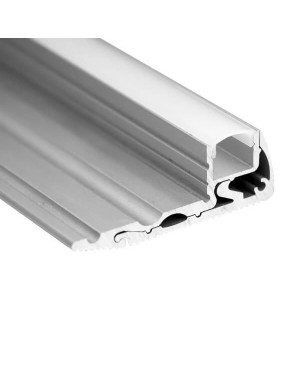 LED strip aluminium PROFILE 1m, for stair cases and other steps