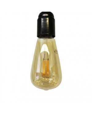 LED bulb E27 — VINTAGE, copper 6W