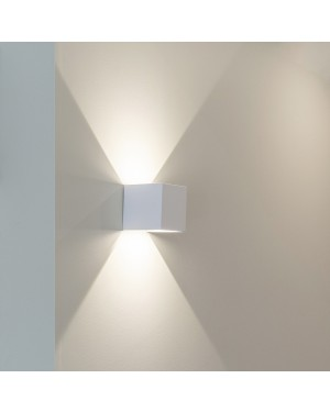 Dimmable LED wall light - FUNK - for indoors and outdoors with adjustable light beam, 3500K, CRI90, IP65