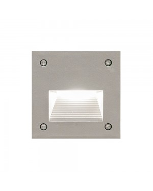LED outdoor IN-WALL OUT fixture, water resistant IP55, for stair or wall lighting 3W