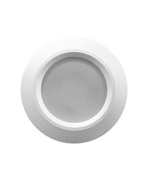 LED downlight — ROUND, IP54, CCT 2700-4000-5300K adjustable & dimmable 15W, SILVER, high CRI98