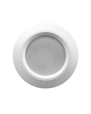 LED downlight — ROUND, IP54, dimmable 9W, silver, high CRI97