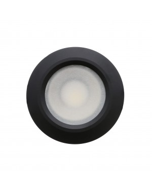 LED downlight — ROUND, IP54, CCT 2700-4000-5300K adjustable & dimmable 15W, BLACK, high CRI98