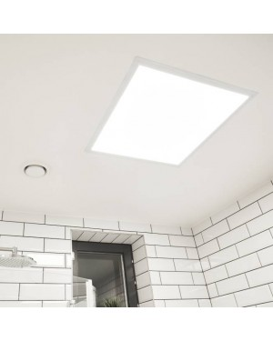 Recessed LED PANEL 600 - UPPOAVA, IP54, colour changeable CCT 3000K-4000K-6000K, 36W, CRI97