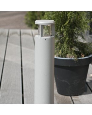 Outdoor LED PILLAR 60cm — ROUND, water resistant IP55 3W
