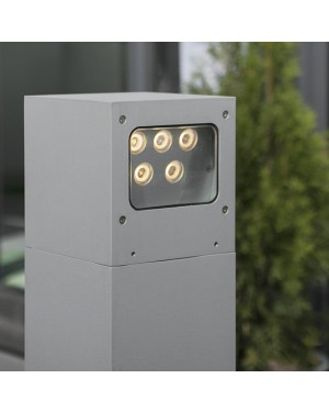Outdoor LED PILLAR — CUBIC 2x5W, two directions