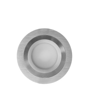 LED downlight — ROUND R023, IP54, CCT 2700-4000-5300K,dimmable 9W, BRUSHED, high CRI98