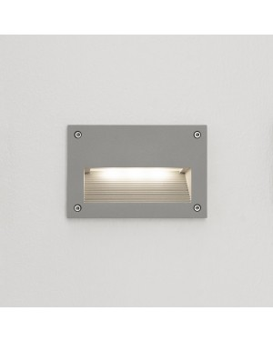 LED outdoor IN-WALL OUT 2 fixture, water resistant IP55, for stair or wall lighting 3W