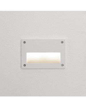 LED outdoor IN-WALL OUT 2 fixture, water resistant IP55, for stair or wall lighting 3W WHITE