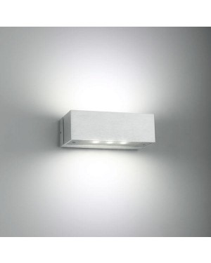 Indoor LED wall light fixture — ANGULAR 2, water resistant IP44, up down lights 2x3W