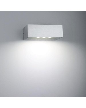 Indoor LED wall light fixture — ANGULAR, water resistant IP44, one direction 3W