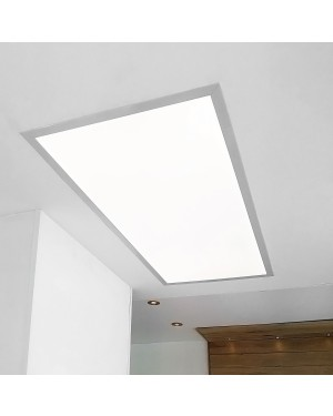 Recessed LED PANEL 600x1200 — UPPOAVA, 72W, dimmable, high CRI97, 2700K-5300K