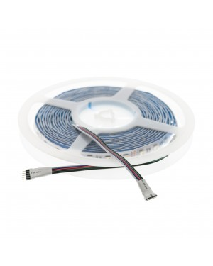 LED RGBW STRIP SMD 5050, 14,4W/m (72W/5m) 24V, water resistant IP65