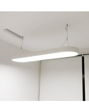 Suspended ceiling led light fixture — UFO for office 48W, 4000K