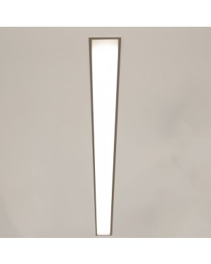 RECESSED LED strip aluminium profile MAXI 90mm