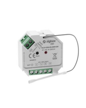 VaLO Zigbee - LED receiver for 230V led lights, ON-OFF, max.250W
