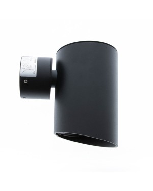LED outdoor wall light fixture — VIISTO I, water resistant IP55, matte black 7W
