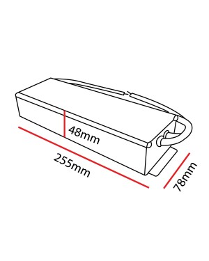 12V dimmable LED DRIVER 150W, TRIAC, for LED strip, IP66