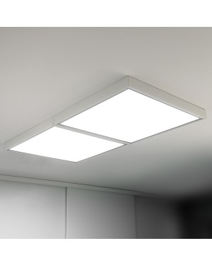 Recessed LED PANEL 600x600 — Surface mounted (50mm frame)