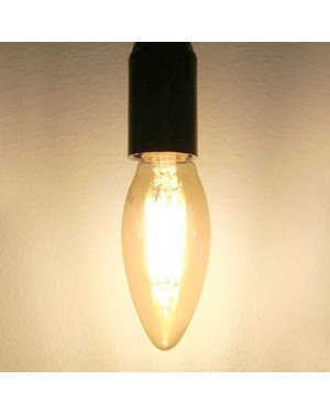 LED bulb E14 — CANDLE, copper 6W