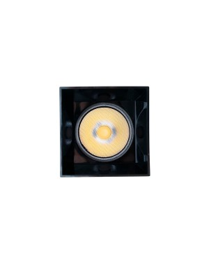 LED downlight — PIILO SQUARE, CCT 2700-4000-5800K,dimmable, hidden 12W, high CRI