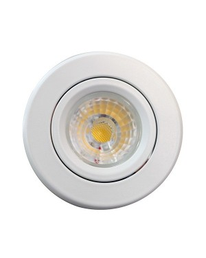 LED downlight — BUDGET, adjustable & dimmable 8W, white, CRI85