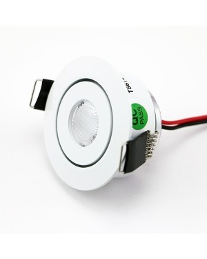Adjustable & recessed SPOT for LED set 097, dimmable, white, 4000K