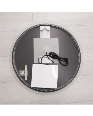 LED bathroom mirror light — Round MOON 600, water resistant IP55, 25W, 5500K, high CRI90