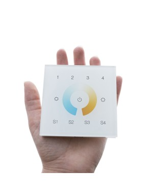 VaLO — LED wall wireless 4 Zone Zigbee Dimmer/controller for CCT led lights