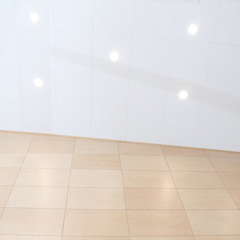 Dimmable LED spots in high ceiling