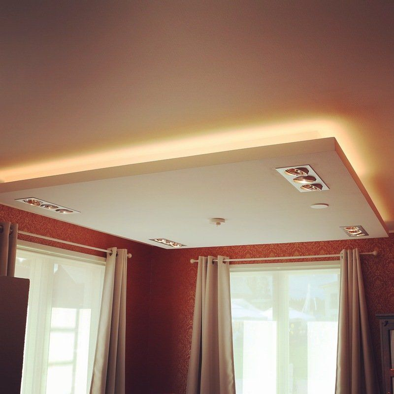 Indirect light with led strip